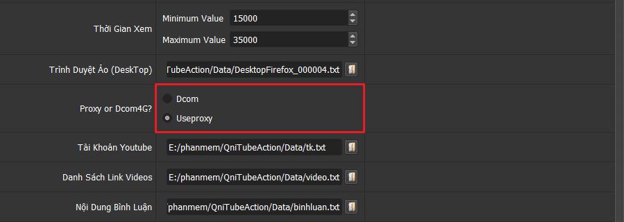 Phần mềm tăng Subscribe, Like, Comment cho video youtube - Phần mềm QniTubeAction