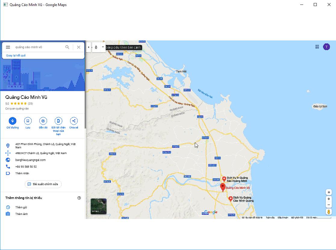 Hướng Dẫn Sử Dụng Phần Mềm Tăng Review Google Maps - GoogleMapReviewer