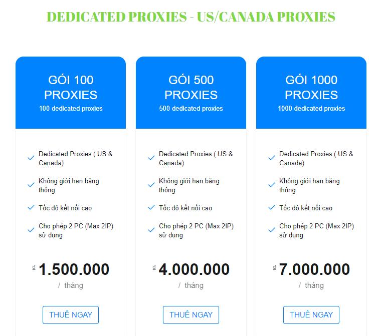 Dịch Vụ Cho Thuê Proxy Giá Rẻ Tại QniSoft
