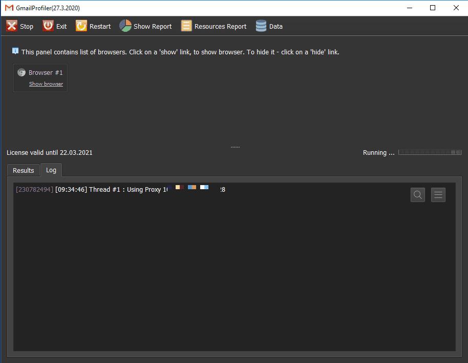 Hướng dẫn sử dụng phần mềm đổi mật khẩu gmail hàng loạt GmailProfiler