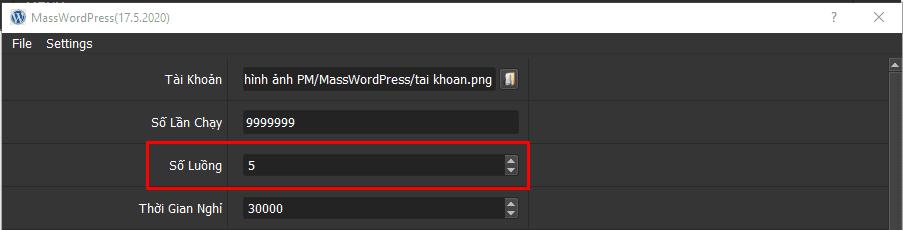 Tạo WordPress Hàng Loạt