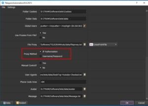 Phương pháp sử dụng Proxy - Phần mềm Telegram