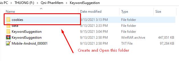 Phần mềm Keyword Suggestion